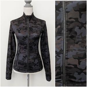 🦄 RARE Lululemon Savasana Camo Black Forme Jacket